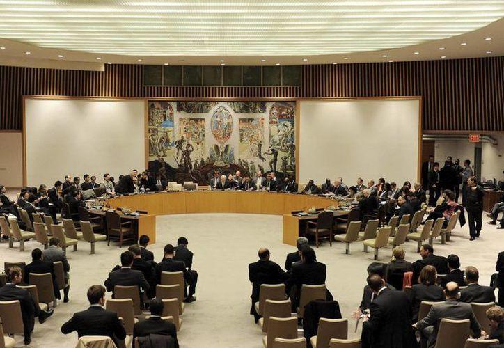 Miembros del Consejo de Seguridad de la ONU que aprobaron la creación de la misión conjunta. (EFE/Archivo)