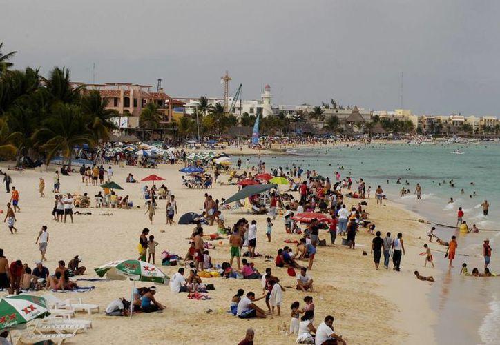 En el 2012 llegaron alrededor de 42 mil británicos al Caribe Mexicano. (Redacción/SIPSE)