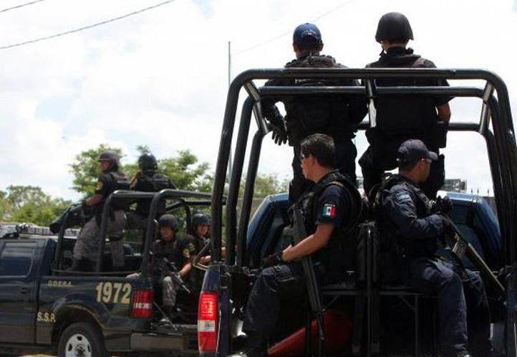 La madrugada del 26 de enero pasado intentaron asesinar a tres agentes de la Policía Estatal de Investigación, en un retén en Periférico de Valladolid. (SIPSE)