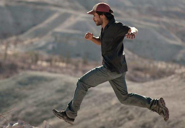 Gael García Bernal es el protagonista del filme mexicano 'Desierto', el cual este domingo fue premiado en el Festival de Cine de Toronto con el premio Fipresci. (Notimex)