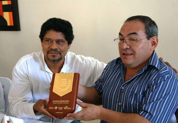El Ingeniero Alfonso Argüelles, recibió el Premio Nacional al Mérito Forestal. (Edgardo Rodríguez/SIPSE)