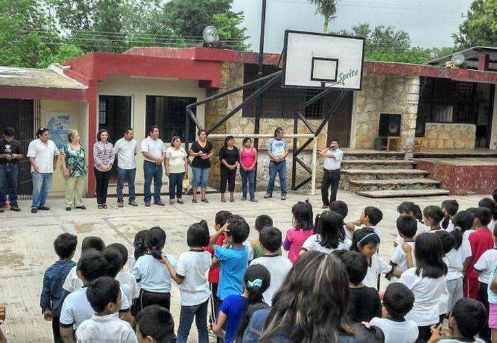 La Comuna de Acanceh invirtió 160 mil pesos en el proyecto de la biblioteca. (SIPSE)