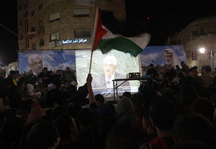 "Palestina logró ser reconocido como ""Estado observador no miembro de ONU"" por 138 votos a favor. (Agencias)"