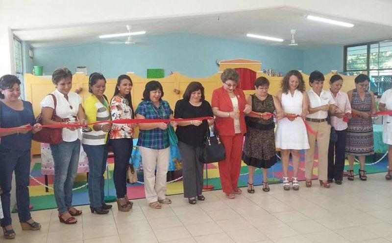 Mérida: Rehabilitación de la biblioteca del jardín de niños ...