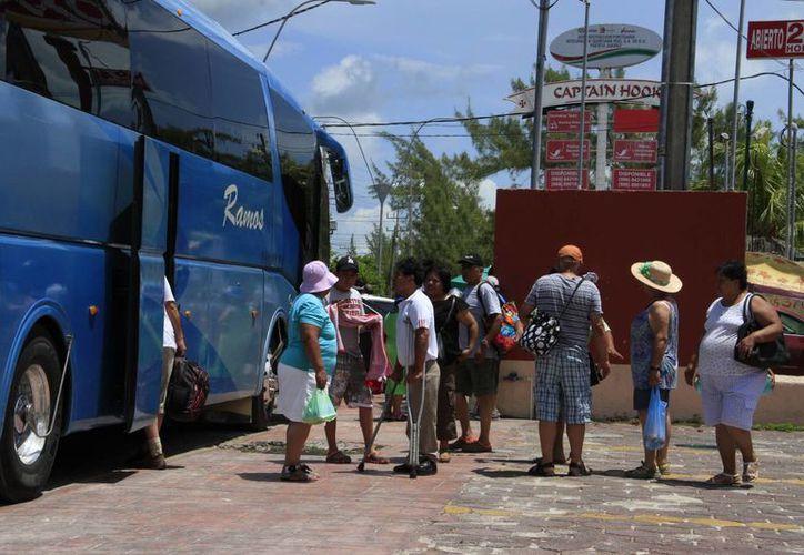 Muchos turistas nacionales prefieren hospedarse en los hoteles del centro de la ciudad. (Israel Leal/SIPSE)
