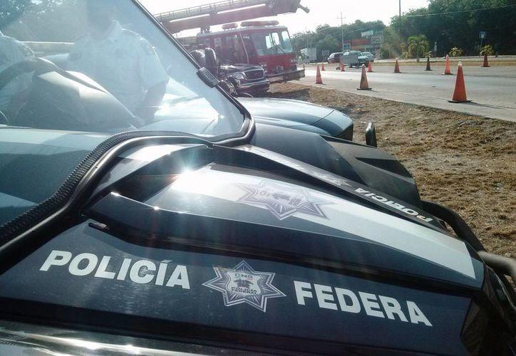 La Policía Federal colocará puntos de control en la carretera federal como parte de su operativo de seguridad de verano. (Rossy López/SIPSE)