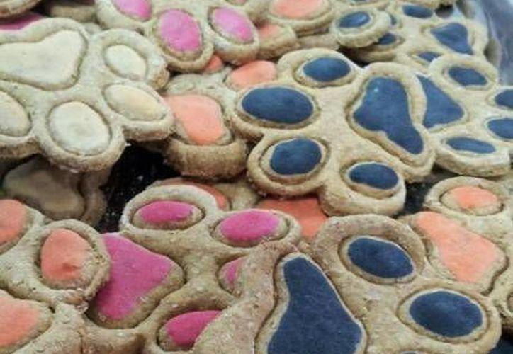 Venden en Cancún galletas y dulces para perros y gatos. (Contexto/Internet)