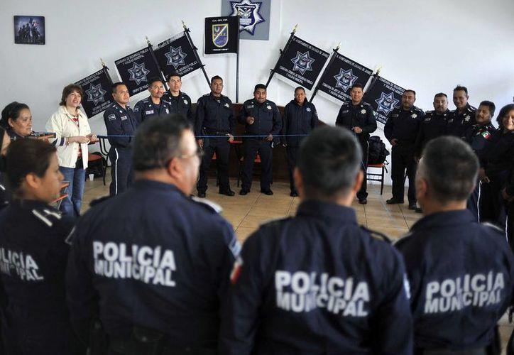 Las entidades que no han aplicado los exámenes de control a todos sus policías tienen como límite octubre. (municipiodeoaxaca.gob.mx/Contexto)