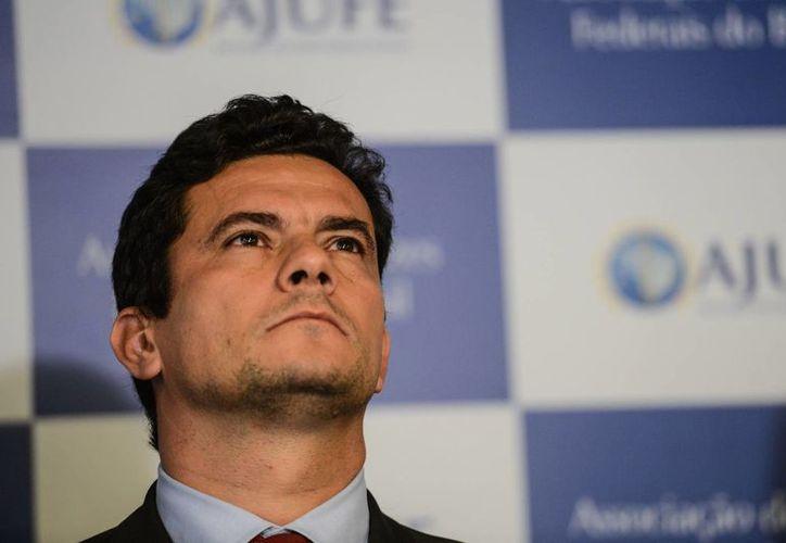 El 'súper juez' Sergio Moro cuenta con el apoyo de un 55 por ciento de los brasileños, según sondeos. (diariodocentrodomundo.com.br)