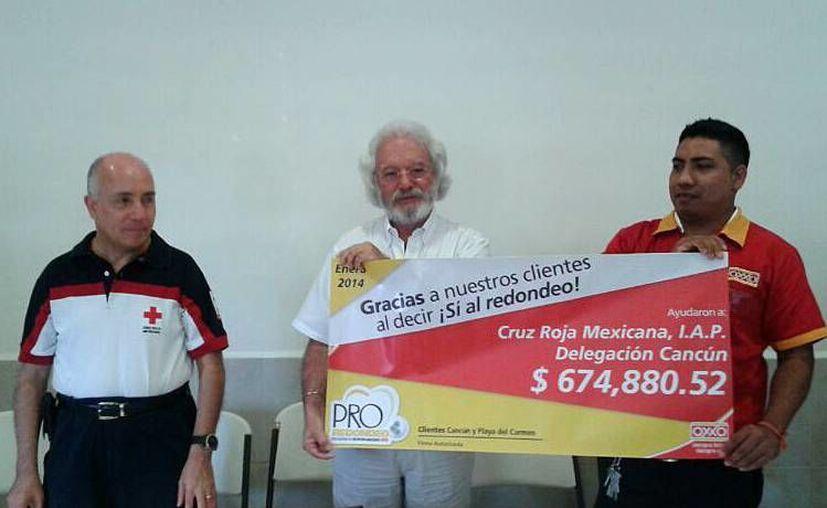 La donación será para mejorar el equipo y las instalaciones de la Cruz Roja. (Francisco Galves/SIPSE)