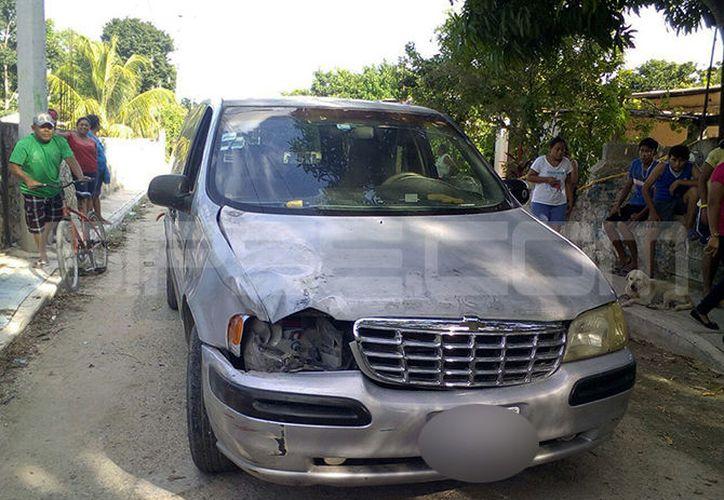 El esposo de la víctima atropelló con una camioneta a la que era la pareja actual de ella. (SIPSE)