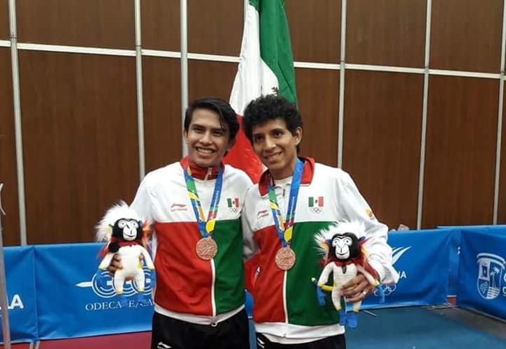 Ambos jóvenes son destacados en su deporte. (Foto: Novedades Yucatán)
