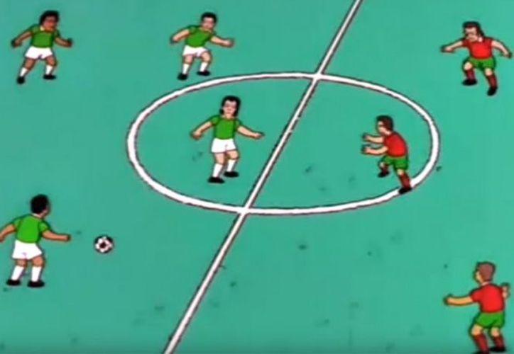 Los Simpsons tienen un capítulo en el que México se enfrenta a Portugal y el encuentro resulta una decepción.  (Impresión de pantalla)