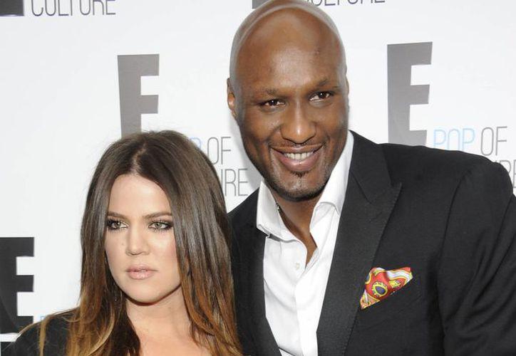 Tras cuatro años de matrimonio Khloe Kardashian decide separarse de Lamar Odom. (Agencias)