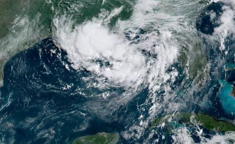 Este jueves Barry lanza vientos sostenidos de 64 kilómetros por hora. (Foto: redes sociales)