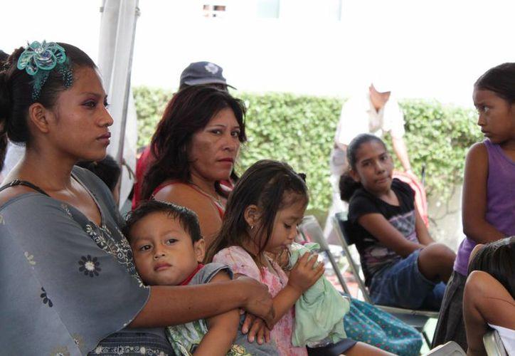 Ese programa llega con la coordinación del hospital y el apoyo ha sido bastante positivo (Octavio Martínez/SIPSE)