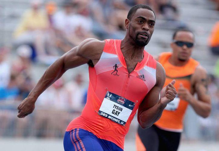 Ussain Bolt está en desacuerdo en que a Tyson Gay (foto) le hayan reducido un castigo por dopaje simplemente porque colaboró con investigadores. (huffingtonpost.com)