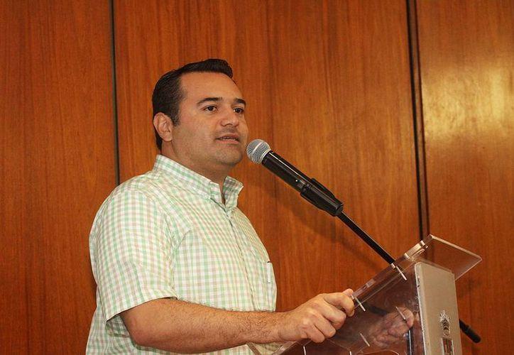 El alcalde de Mérida, Renán Barrera, planea una deuda a plazo de 15 años. (SIPSE)