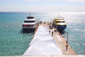 Lista al 100%, nueva terminal marítima de Playa del Carmen