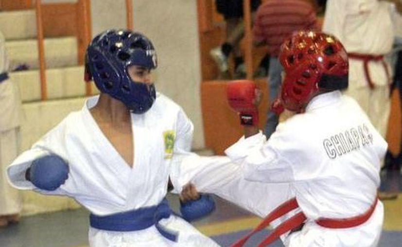 El karate de Yucatán anda en buen nivel. (Idey/Archivo)