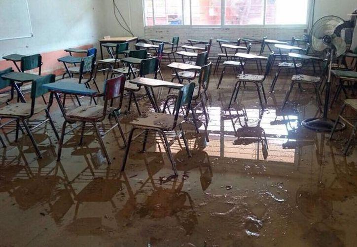 Las escuelas con riesgos para sus estudiantes carecen de mantenimiento, entre otros desperfectos. (Archivo/Notimex)