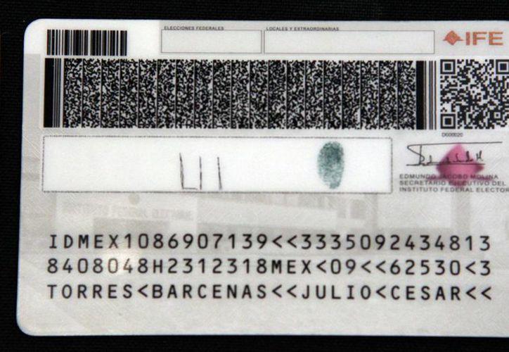 A partir del 24 de enero, todo ciudadano mexicano tendrá el derecho de decidir si aparecen los datos de su su domicilio en la credencial del IFE. (Notimex/Archivo)