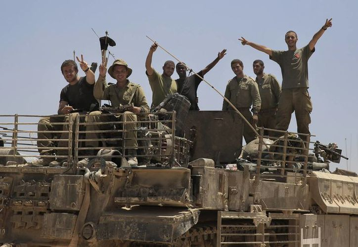 Israel advirtió este lunes que emprenderá una 'campaña prolongada' contra Hamas. (AP)