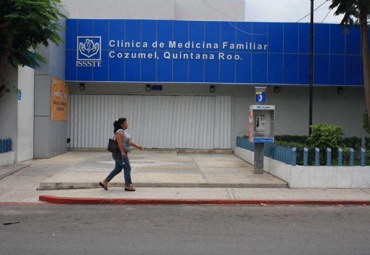 El Issste  en Cozumel carece de un módulo de información para los derechohabientes. (Marco Do Castella/SIPSE)