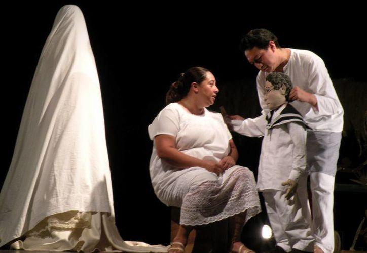 La puesta en escena aborda la época de la esclavitud en Yucatán. (Milenio Novedades)