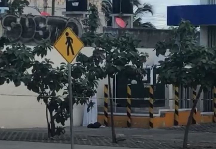 Los hechos ocurrieron en  la entrada del Fraccionamiento Las Palmas. (Redacción/SIPSE)