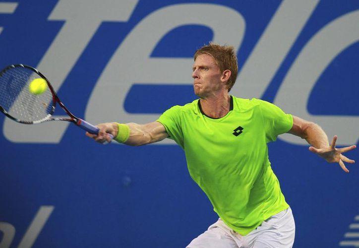 El sudafricano Kevin Anderson disputará la final en singles y la de dobles en el Abierto de tenis de Acapulco. (Agencias)