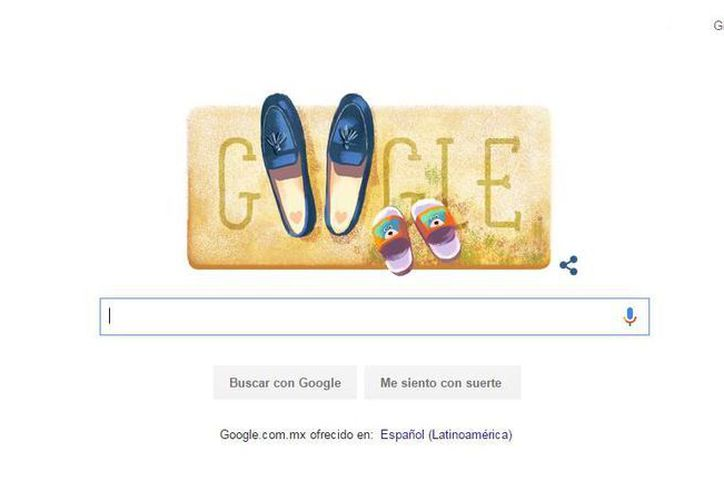 El dibujo por el Día de la Madre fue creado por Sophie Diado. (google.com)