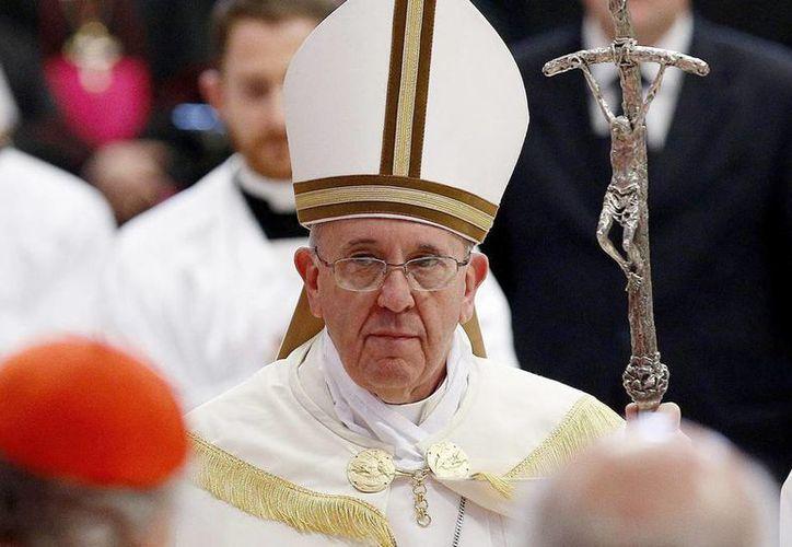 El Papa Francisco en una misa del Consistorio en la Basílica de San Pedro, en Ciudad del Vaticano. (EFE/Archivo)