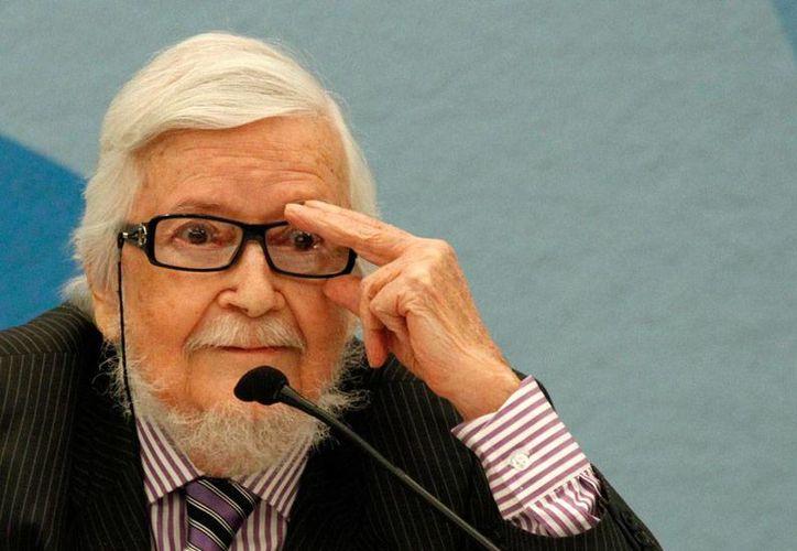 Fernando del Paso, escritor mexicano, ganó el Premio Cervantes 2015. (Archivo/NTX)