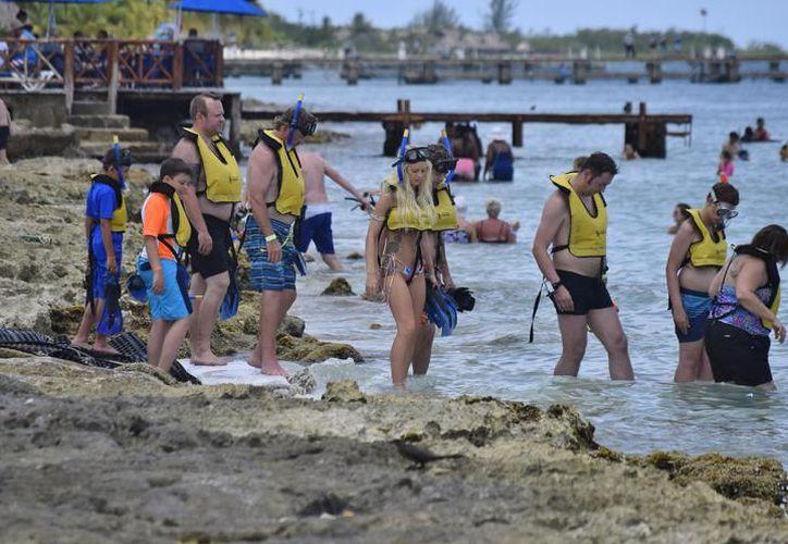 En la Isla de las Golondrinas existe hoteles a los que se conoce como no asociados o pequeños. (Archivo/SIPSE)