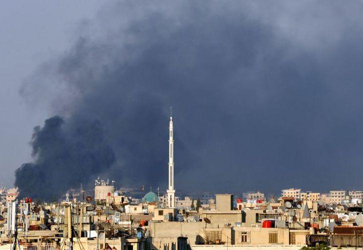 Continúa el intenso fuego entre el Ejército y los rebeldes en Siria. (Agencias)