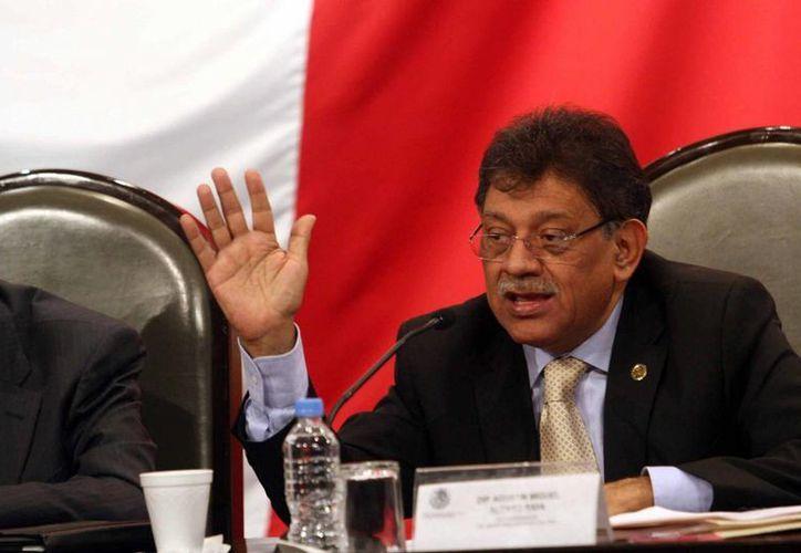 Miguel Alonso Raya, vicecoordinador de la bancada perredista.  (www.diputadosprd.org.mx)