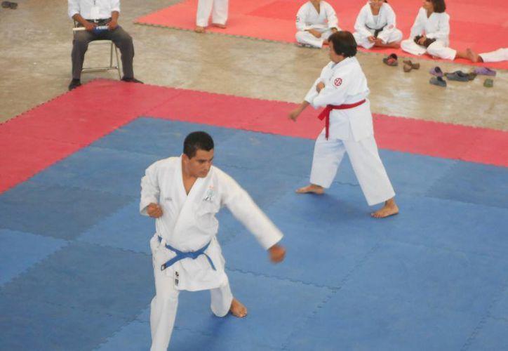 La Unidad Deportiva Luis Donaldo Colosio fue el escenario de la competencia. (Redacción/SIPSE)