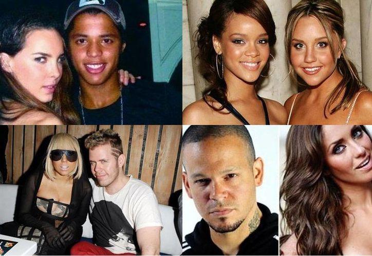 Belinda y Giovani Dos Santos, Amanda Bynes y Rihanna, Lady Gaga y Perez Hilton, Anahí y Residente, han publicado sus discusiones en Twitter. (Especial/Milenio)