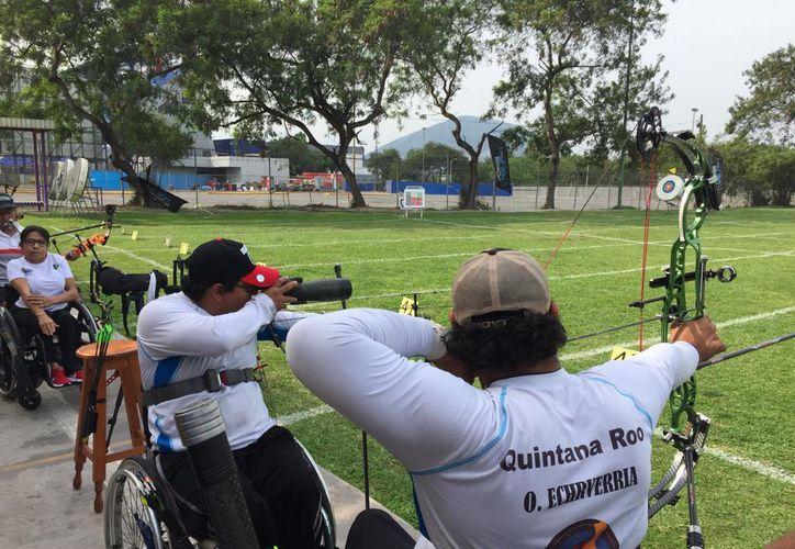 Echeverría Espinosa salió triunfante en el Para Grand Prix que se celebra en Monterrey, Nuevo León. (Miguel Maldonado/SIPSE)