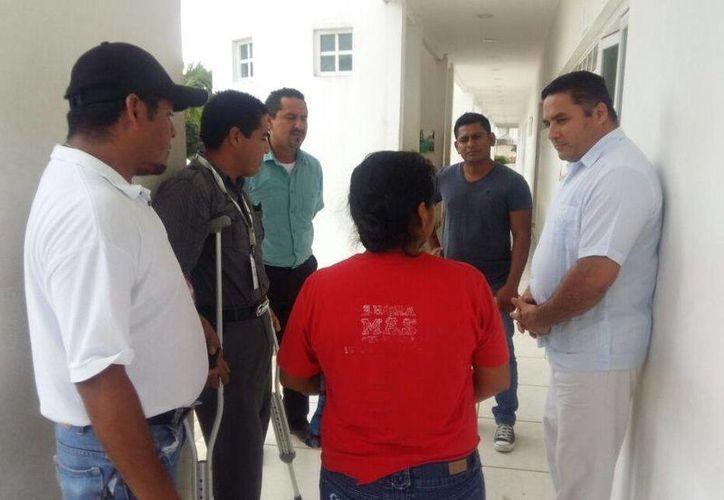 El jurídico del DIF asistirá a Ana, y sus hijos recibirán terapias psicológicas. (Foto: Adrián Barreto/ SIPSE)