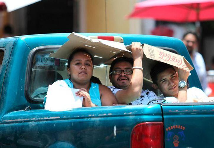 El Observatorio Meteorológico señaló que ayer el registro más alto de temperatura en la capital yucateca fue de 31.4 grados, a las 13 horas de la tarde. (SIPSE)