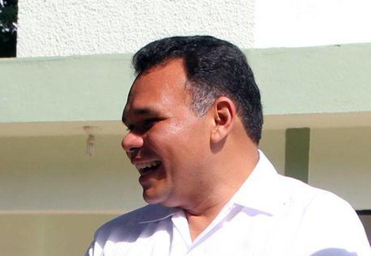 El gobernador Rolando Zapata Bello manifestó que se busca que las empresas yucatecas puedan abrir ventas en China. (Milenio Novedades)