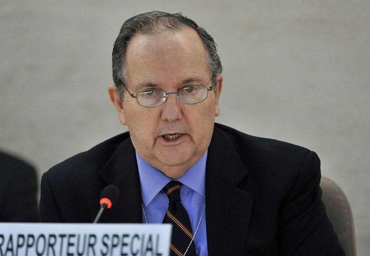 México no es un Estado fallido, pero la impunidad en el país es un factor importante en el tema de la tortura generalizada, dijo Juan E. Méndez. (www.un.org)