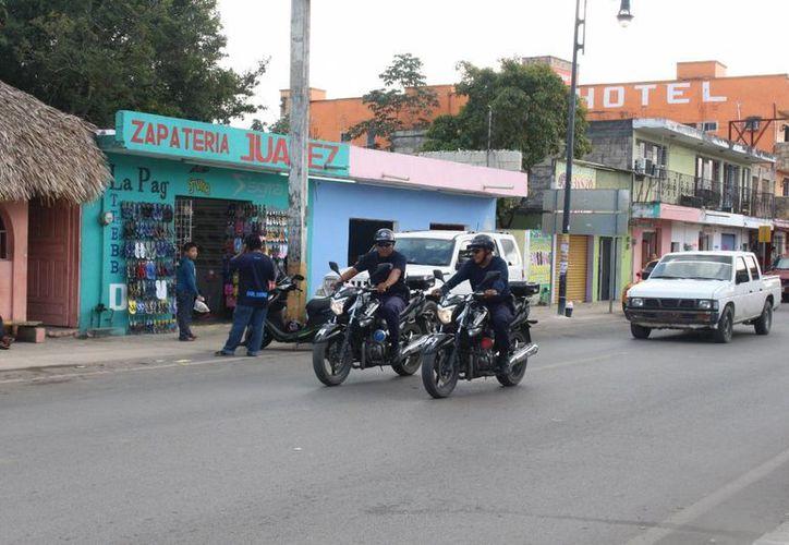Están en puerta exámenes sorpresa para todos los policías del Estado. (Ángel Castilla/SIPSE)