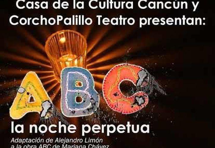 A las 20 horas en las instalaciones de la Casa de la Cultura se presenta la obra de teatro 'ABC la noche perpetua'. (Contexto/Internet)
