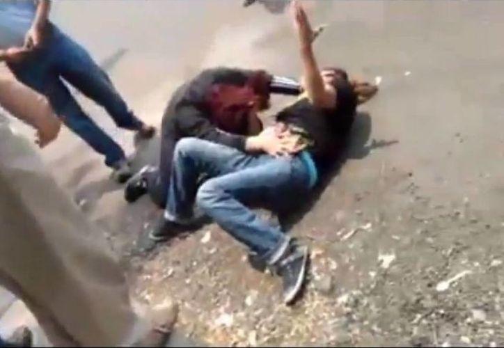 Panistas de Xochimilco exigen la destitución de la agresora. (Captura de pantalla)