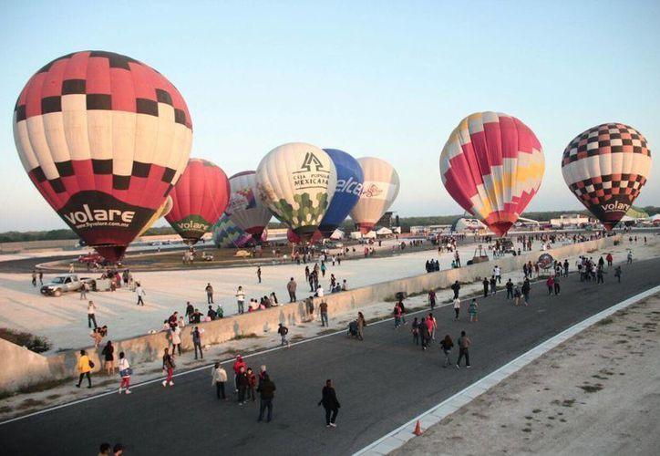 Con diferentes inconvenientes se realizó durante el fin de semana el  Festival El Globo en Yucatán. (Milenio Novedades)