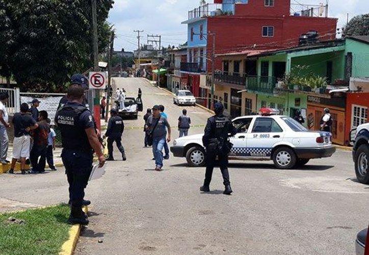 Temen pobladores de otro ataque en Tlaltetela, Veracruz. (Foto: XEU)