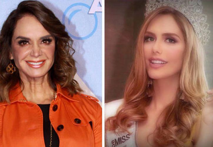 A Lupita Jones no le agrada la participación de la española Ángela Ponce en Miss Universo. (Internet)
